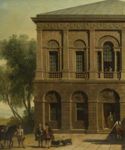 View of the House of General Wade | Francesco Zuccarelli | Oil Painting