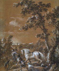 A Hunting Scene | Francesco Zuccarelli | Oil Painting
