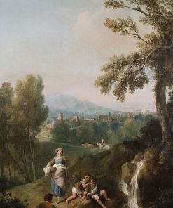 Jacob and Leah with their Sons | Francesco Zuccarelli | Oil Painting