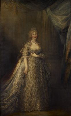 Caroline of Brunswick (1768-1821) when Princess of Wales | Gainsborough Dupont | Oil Painting