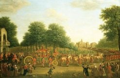 George III's Procession to the Houses of Parliament | John Wootton | Oil Painting