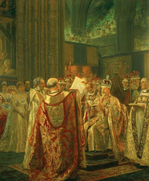 The Coronation of King Edward VII (1841-1910) | Laurits Tuxen | Oil Painting