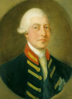 George III (1738-1820) | Thomas Gainsborough | Oil Painting