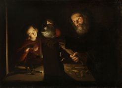 Christ in the Carpenter's Shop | Trophime Bigot | Oil Painting