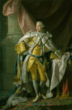George III (1738-1820) | Allan Ramsay | Oil Painting