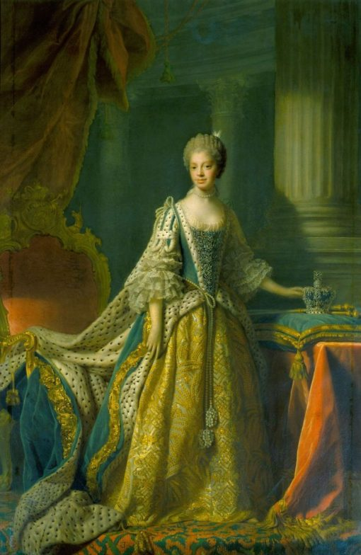Queen Charlotte (1744-1818) | Allan Ramsay | Oil Painting