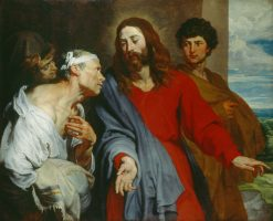 Christ Healing the Paralytic | Anthony van Dyck | Oil Painting