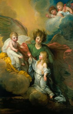 The Apotheosis of Prince Octavius | Benjamin West | Oil Painting