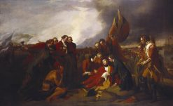 Death of Wolfe | Benjamin West | Oil Painting