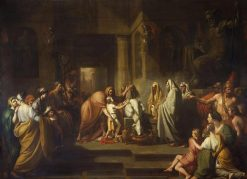 The Oath of Hannibal | Benjamin West | Oil Painting