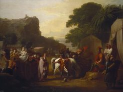 The Family of the King of Armenia Before Cyrus | Benjamin West | Oil Painting