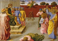 The Fall of Simon Magus | Benozzo Gozzoli | Oil Painting