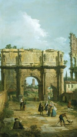 Arch of Constantine | Canaletto | Oil Painting