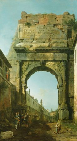 Arch of Titus | Canaletto | Oil Painting
