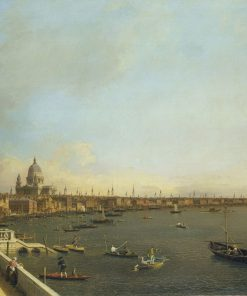 London: The Thames from Somerset House Terrace towards the City | Canaletto | Oil Painting