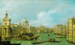 The Grand Canal from the Salute towards the Carita | Canaletto | Oil Painting