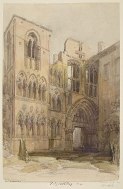 Ruins of the Abbey of Holyrood | David Roberts | Oil Painting