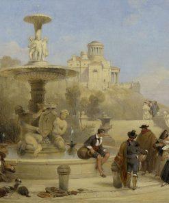 The Fountain of the Prado
