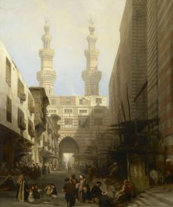 A View in Cairo | David Roberts | Oil Painting