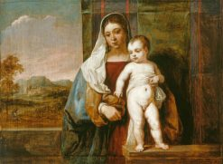 The Virgin and Child | David Teniers II | Oil Painting