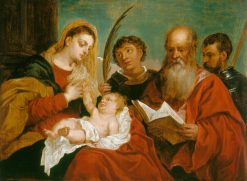 The Virgin and Child with Saints Stephen