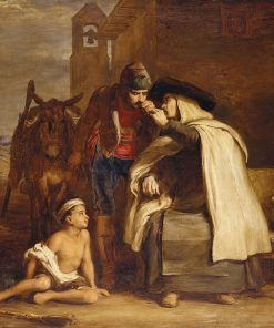 The Guerilla's Departure | David Wilkie | Oil Painting