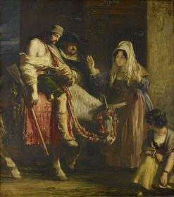 The Guerilla's Return | David Wilkie | Oil Painting