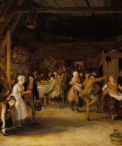 The Penny Wedding | David Wilkie | Oil Painting