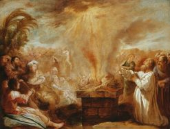 The Sacrifice of Elijah Before the Priests of Baal | Domenico Fetti | Oil Painting