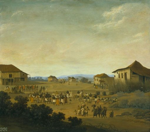 A Village in Brazil | Frans Post | Oil Painting
