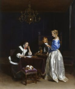 The Letter | Gerard ter Borch | Oil Painting