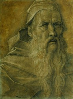 Head of an Old Bearded Man | Giovanni Bellini | Oil Painting