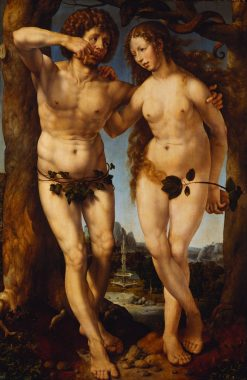 Adam and Eve | Jan Gossaert | Oil Painting