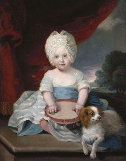 Princess Amelia (1783-1810) | John Hoppner | Oil Painting