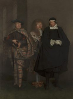 John Lacy (d. 1681) | John Michael Wright | Oil Painting