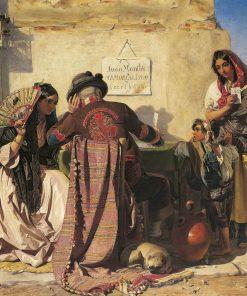 The Letter-Writer of Seville | John Phillip | Oil Painting