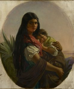 A Spanish Gipsy Mother | John Phillip | Oil Painting