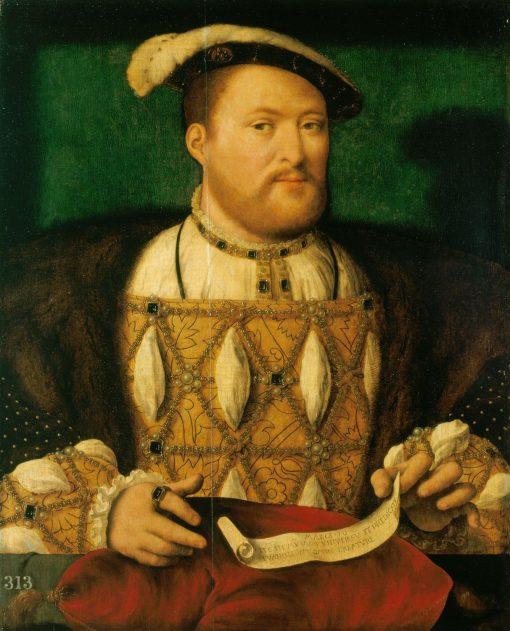 Henry VIII   Joos van Cleve   Oil Painting