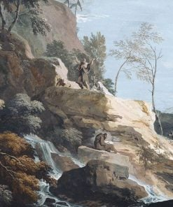 A Mountainside with Hermits | Marco Ricci | Oil Painting