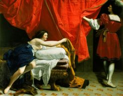 Joseph and Potiphar's Wife | Orazio Gentileschi | Oil Painting