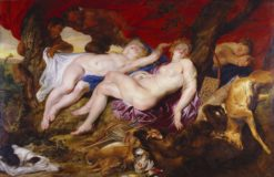 Diana and her Nymphs   Peter Paul Rubens   Oil Painting