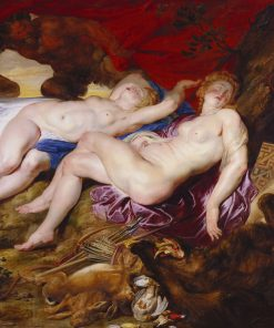 Diana and her Nymphs | Peter Paul Rubens | Oil Painting