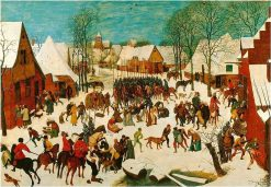 Massacre of the Innocents | Pieter Bruegel the Elder | Oil Painting