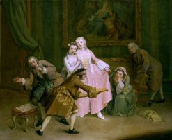 Blind-Man's Buff | Pietro Longhi | Oil Painting