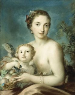 A Personification of Autumn | Rosalba Carriera | Oil Painting