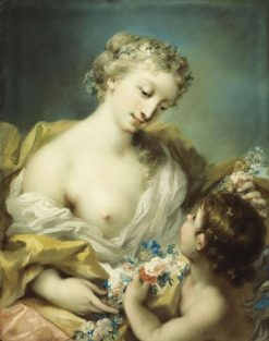 A Personification of Spring | Rosalba Carriera | Oil Painting