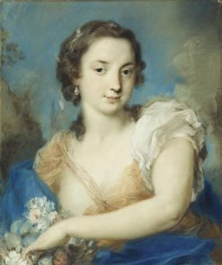 A Personification of Summer | Rosalba Carriera | Oil Painting