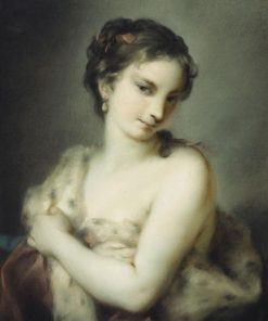 A Personification of Winter | Rosalba Carriera | Oil Painting