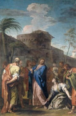 Christ and the Woman who Believed | Sebastiano Ricci | Oil Painting