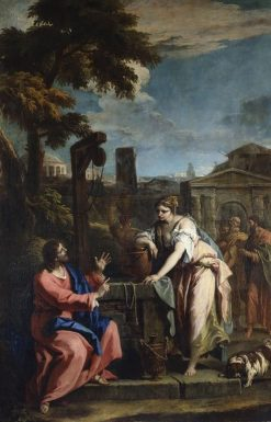 Christ and the Woman of Samaria | Sebastiano Ricci | Oil Painting